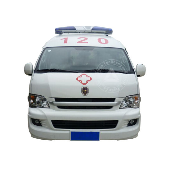 Jinbei Chassis LHD Ylh5038xjhl Middle Roof Diesel Engine Hospital ICU Transit Medical Clinic Ambulance