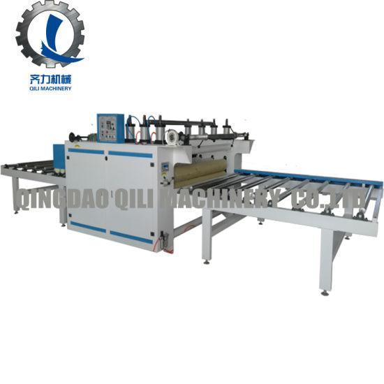 Woodworking PU Paper Laminating and Sticking Machine