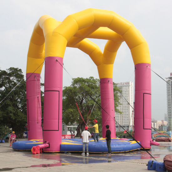 Giant / Small / Mini Square Inflatable Bungee Elastics pictures & photos