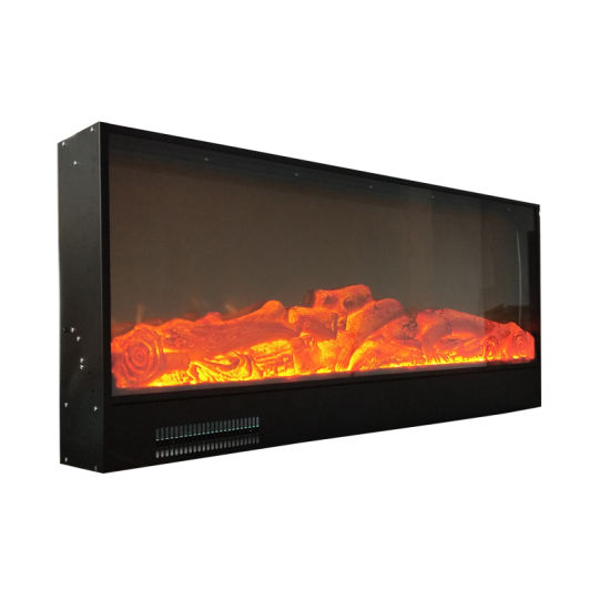 100 240v 1500w Led Decoration Without Heat Insert Electric Fireplace