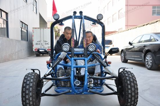 China Factory Driect Sell off-Road 2 Seater 150cc Go Kart - China Go