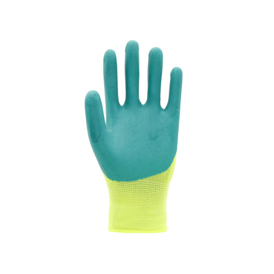 Latex Foam Labor Protective Safety Working Gloves