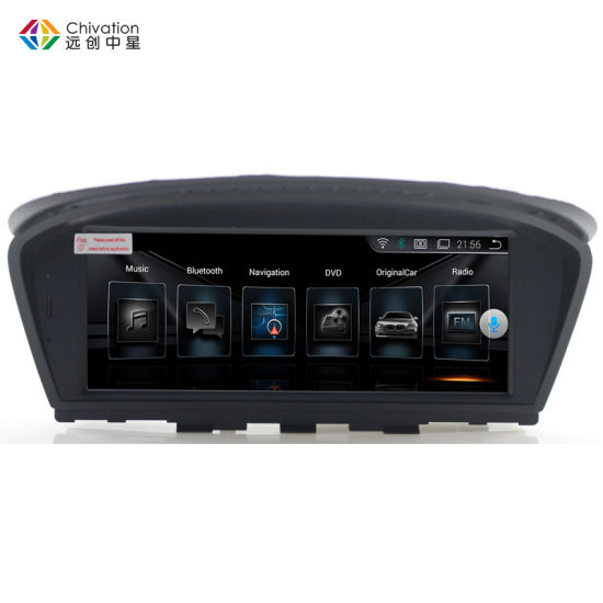 ID6 Full Touch Screen Px3 Android 7 1 for BMW 5 Series E60 E61 E62 E63 E64  E90 E91 E92 CCC Cic System Car Radio Cassette