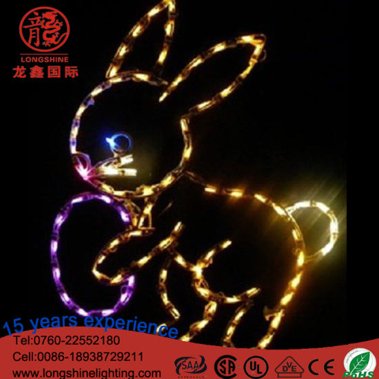 LED Easter Decorative Light for Outdoor/Indoor Easter Day Decoration