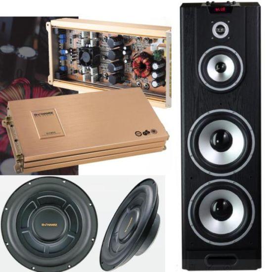 China Hi End Hifi Bluetooth Car Home Theater Audio Amplifier