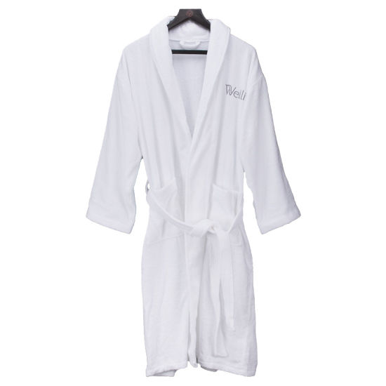 931df48cff China 100% Cotton Terry Bath Robe for Hotel SPA Collection - China ...