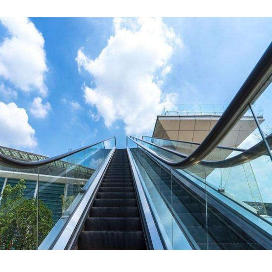 Schindler 30 35 Degree 1000mm Step Width Speed 0.5m/S Low Noise Economical Safe Vvvf Escalator Outdoor