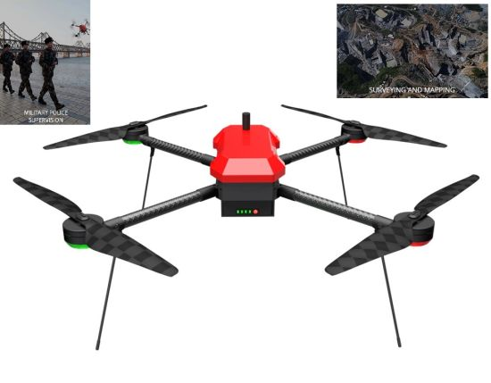 T-Drones Long Flight Time 71mins 0.5-1kg Payload Uav M690 Lighter Material with Carbon Fiber Frame Take-off Weight 4.25kg Only pictures & photos