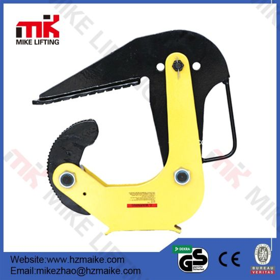 Vertical Steel Plate Horizontal Lifting Clamp pictures & photos
