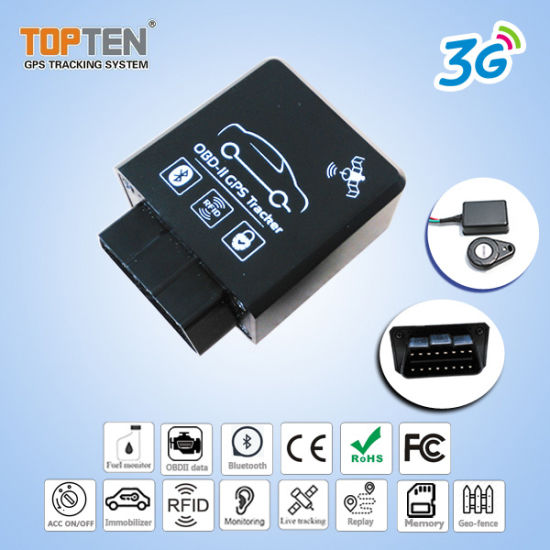 China 3G Play&Plug OBD II GPS Vehicle Ereo Code Diagnosis