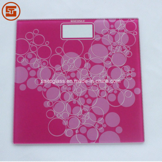 OEM Tempered Glass Insulated Electronic Body Weighing Bathroom Scale Glass Panel