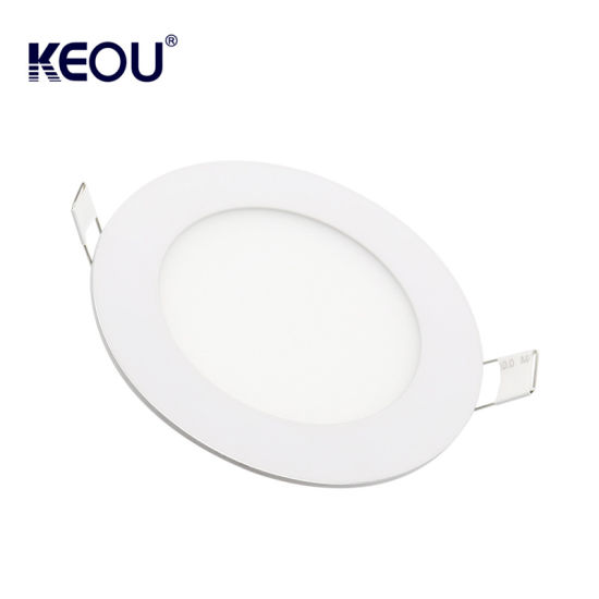 Premium White Surface Mount Round Square Ceiling Led Panel Light 6w 12w 18w 24w