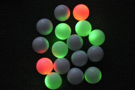 Wholesale Colorful Flashing Night Sports LED Golf Ball pictures & photos