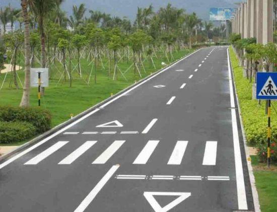 China Highway Line Yellow/White Road Marking Paint Machine