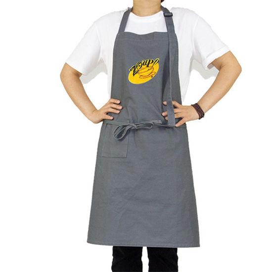 Wholesale Kitchen Cooking Uniform Denim Apron