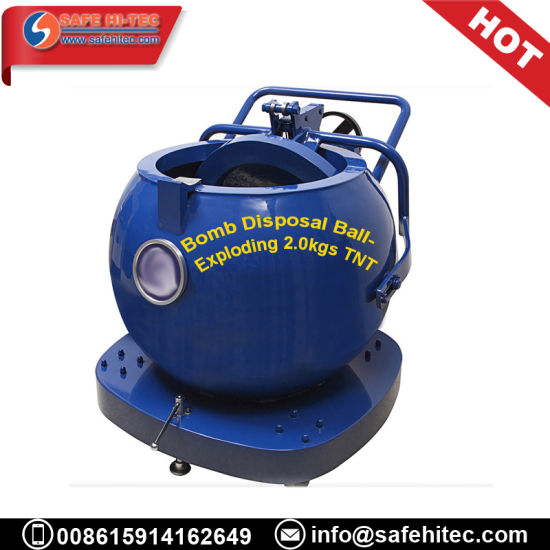 China SAFE HI TEC Explosion proof Military Tank Dangerous Goods