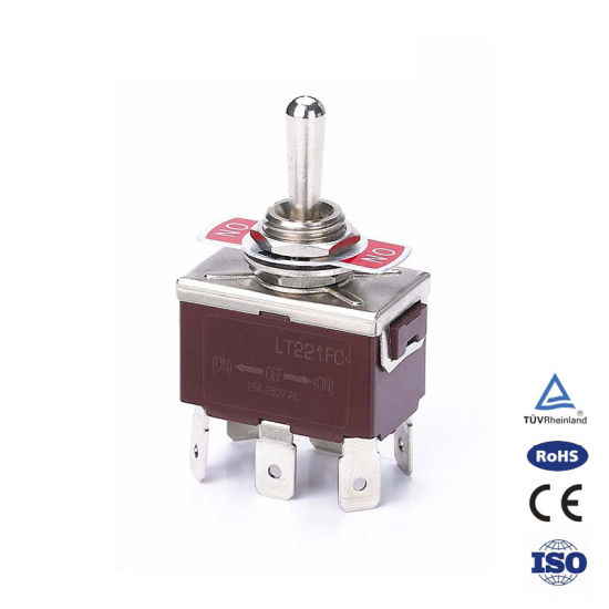Professional Manufacturer of Short Handle Magnetic 8 Pin Toggle Switch