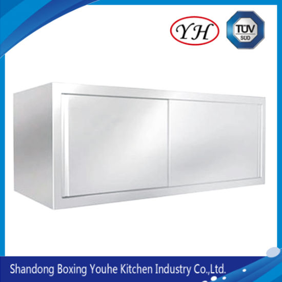 Customized Stainless Steel Open Wall Mount Storage Cupboard Cabinet for Kitchen