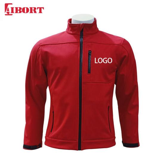 Aibort Unisex Polyester Softshell Zipper Jacket with Custom Logo (SFJK-06)