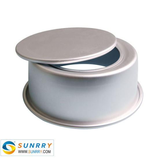 4'' Round Stainless Steel Bakeware Baking Cake Molds with Movable Bottom