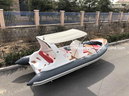 Liya 20FT Luxury Yacht Rigid Hull Boat Rib Boat