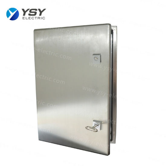 IP66 Waterproof Stainless Steel 304/316 Electrical Enclosure for Power Distribution