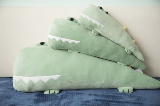 Amazon Hot Sale Decorative Cartoon Crocodile Hippo Plush Toy