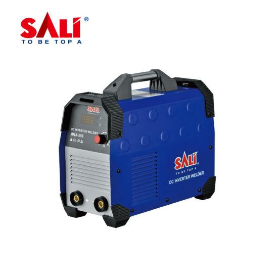 Yiwu Factory Direct Sales Sali Brand MMA-250 220V DC Electric Inverter Welder
