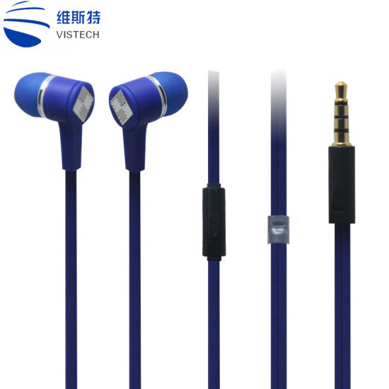 China High Sound Quality For Iphone Earbuds Cell Phone Headphone Control Microphone China Cell Phone Headphone And Iphone Earbuds Price