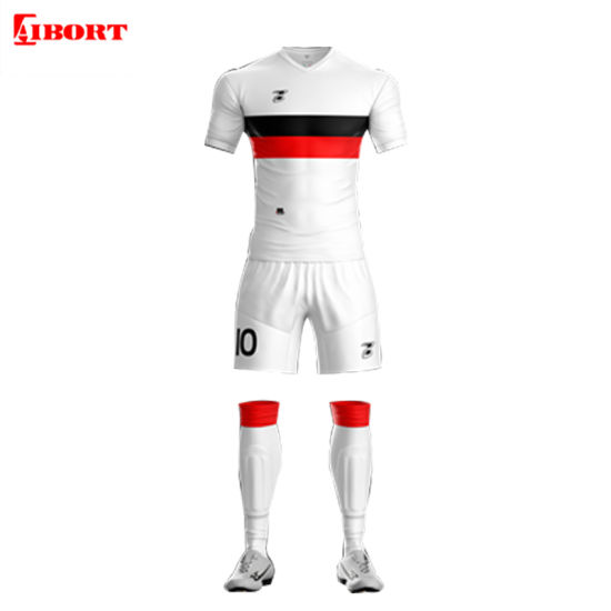 Aibort Custom Sportswear Sublimation Home Away Soccer Jerseys Football Shirts