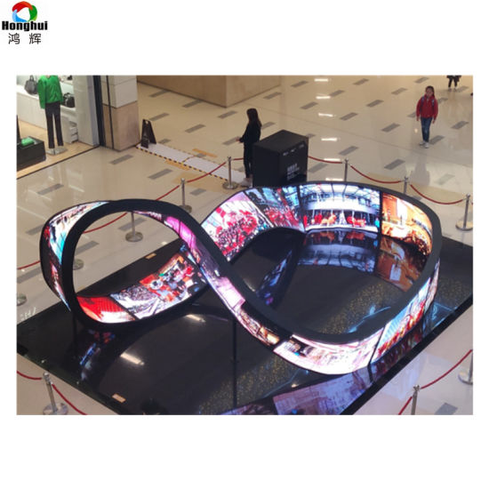 Indoor Creative Design Full Corlor P2 P3 P4 Soft LED Display