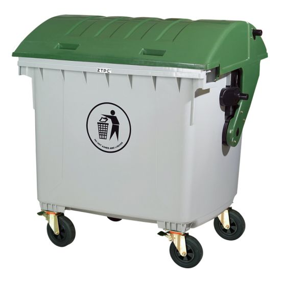 Recycling Large 660L Waste Bin with Wheels pictures & photos