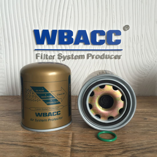 Truck Air Dryer Cartridge Gold Color