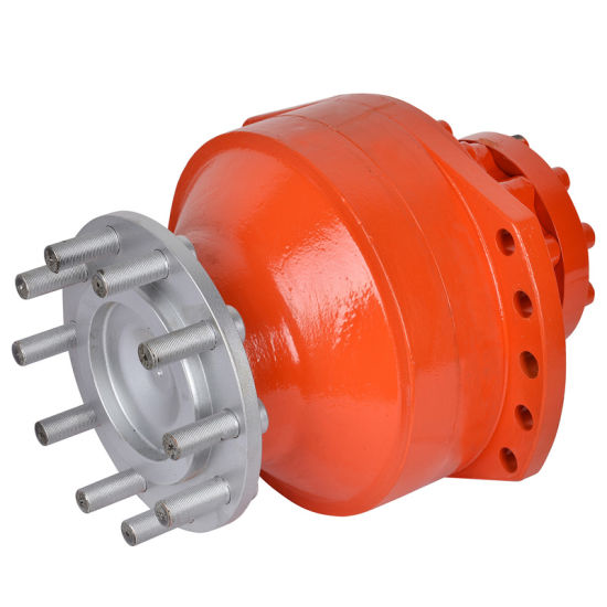 Low Speed High Torque Hydraulic Motor Poclain Ms18
