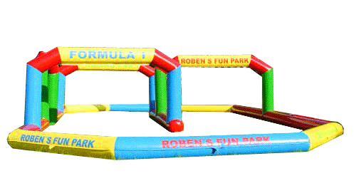 Customized Size Inflatable Autodrome Race Road Race Track for Toy Cars (FLRA) pictures & photos