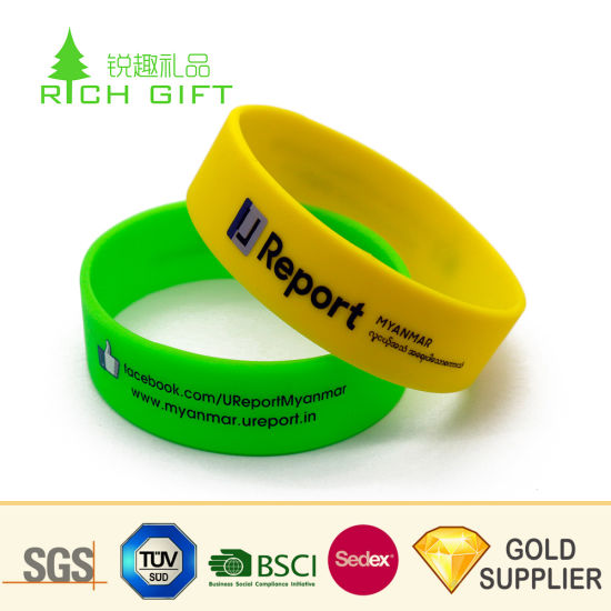b7e02f68be Hot Selling Fashion Design Custom Tie Dye Printed Silicone Rubber Sport  Volleyball Wristband