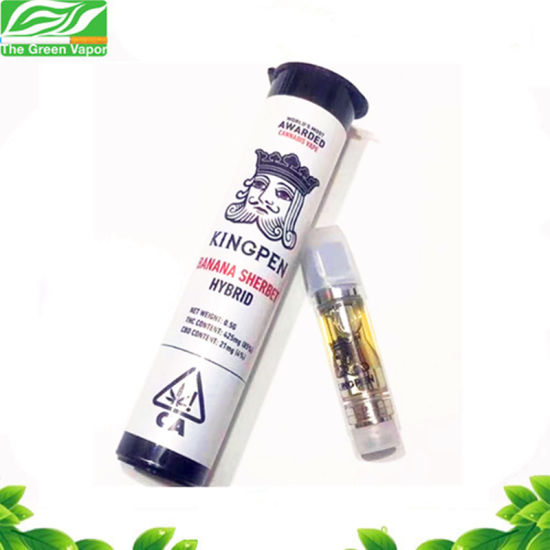 Electronic Cigarette Tank King Pen Oil Cartridge with Ceramic Coil 1.0ml pictures & photos