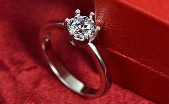 Girl Style Zircon Imitation Jewelry Finger Ring Silver Ring Jewelry pictures & photos