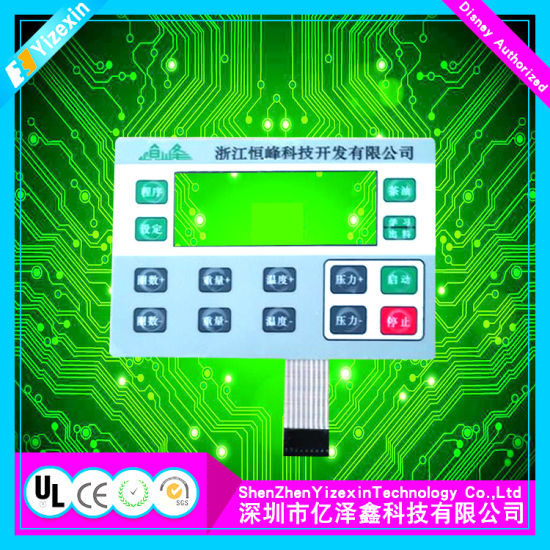 Calculator Silicone Membrane Keypad Lenses with Connectors pictures & photos