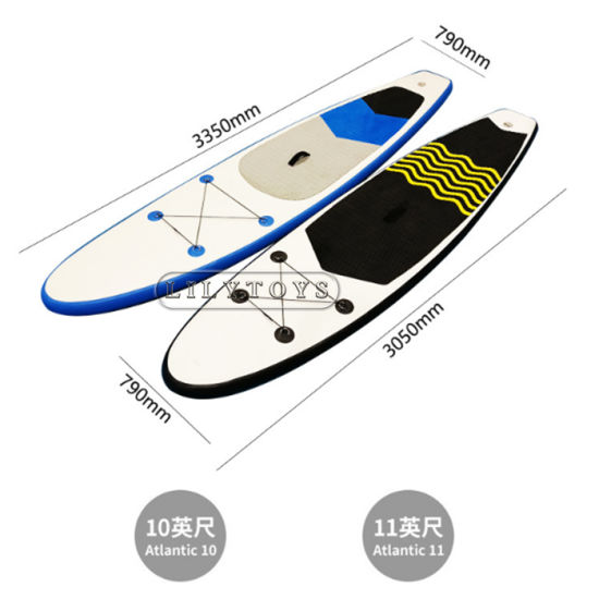 Drop Stitch (DWF) Material Water Boards Surf Board for Sale Adult Inflatable Sup Paddle Board pictures & photos