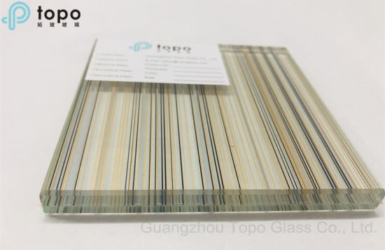 Guangzhou Topo Glass Accept Customized Your Laminated Glass Wire Glass (PLW-TP)