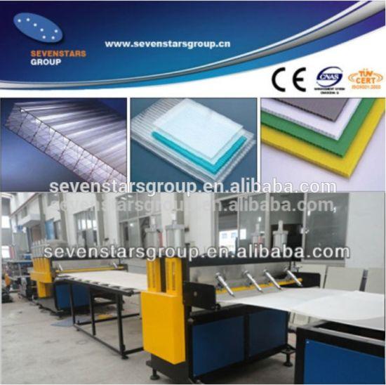 PP PE PC Hollow Sheet Making Machine/PP Hollow Sheet Production Line