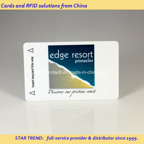 China 125kHz/13 56MHz Compatible 1K RFID Tag Card Made of
