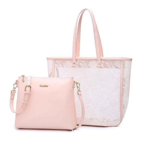 2018 Summer Lace Fabric Large Women Tote Bag/Handbag pictures & photos