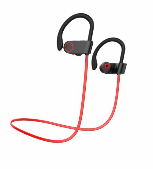51fab5520fe Sports Wireless Stereo Bluetooth Headset Earhook Style for Running D20