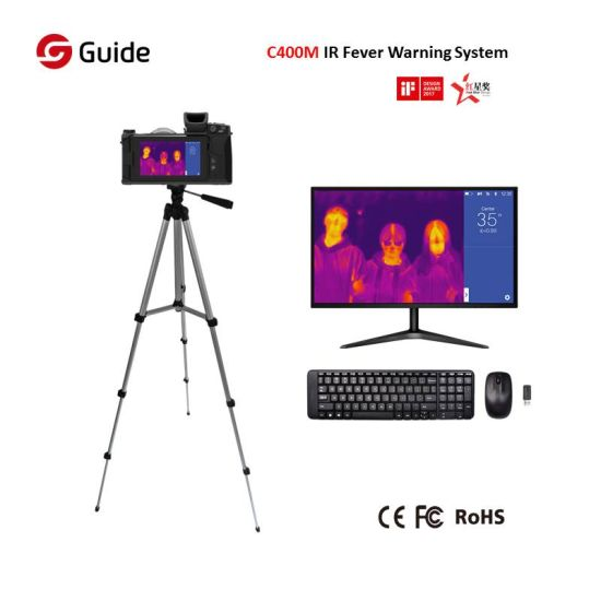 Guide C400m Thermographic Fever Screening Thermal Temperature Scanning Measurement Thermal Camera
