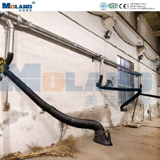 Centralized Welding Fume Extraction Dust Collector/Plasma Cutting Dust Collection
