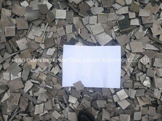 99.97 % Nickel Plate/ Nickel Sheet / Nickel Metal Scrap