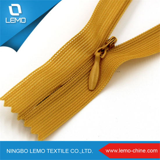 Factory Sale3# Invisible Zipper with Lace Tape