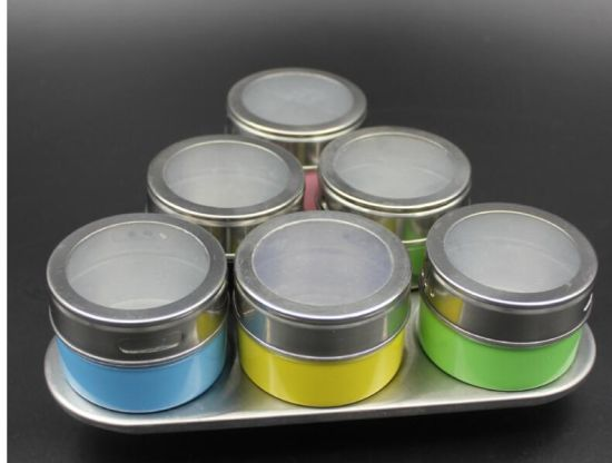 6PCS of Steel Seasoning Pot pictures & photos